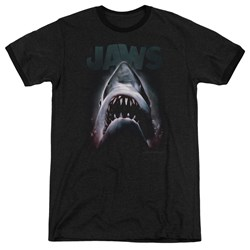 Jaws - Mens Terror In The Deep Ringer T-Shirt