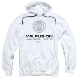 Back To The Future II - Mens Mr. Fusion Logo Pullover Hoodie