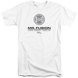 Back To The Future II - Mens Mr. Fusion Logo Tall T-Shirt