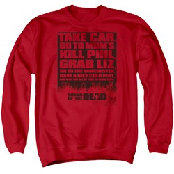 Shaun Of The Dead - Mens List Sweater