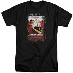Shaun Of The Dead - Mens Poster Tall T-Shirt