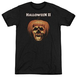 Halloween Ii - Mens Pumpkin Shell Ringer T-Shirt
