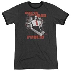 Shaun Of The Dead - Mens Bash Em Ringer T-Shirt