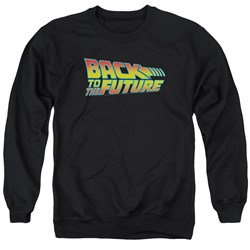 Back To The Future - Mens Logo Sweater