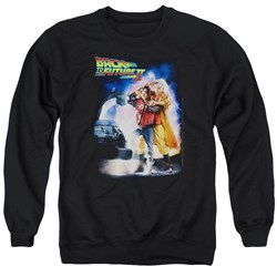 Back To The Future II - Mens Poster Sweater
