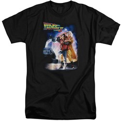 Back To The Future II - Mens Poster Tall T-Shirt