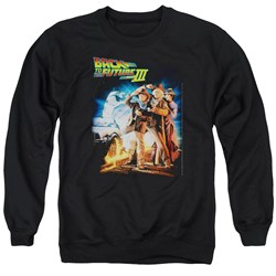 Back To The Future III - Mens Poster Sweater