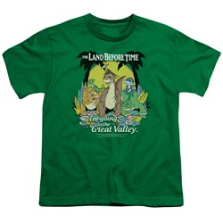 Land Before Time - Big Boys Great Valley T-Shirt