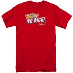 Fast Times Ridgemont High - Mens No Dice Tall T-Shirt