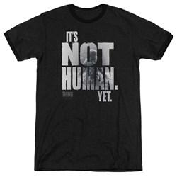Thing - Mens Not Human Yet Ringer T-Shirt