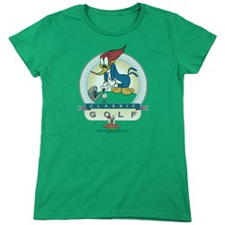 Woody Woodpecker - Womens Classic Golf T-Shirt
