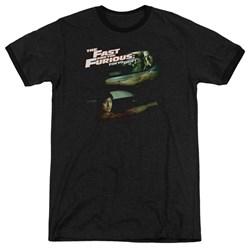 Tokyo Drift - Mens Drifting Together Ringer T-Shirt