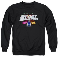 2 Fast 2 Furious - Mens Logo Sweater
