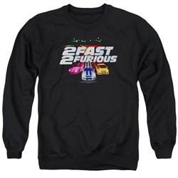 2 Fast 2 Furious - Mens Logo Sweater