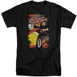 Tokyo Drift - Mens Drifting Crew Tall T-Shirt