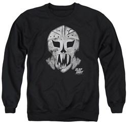 Slap Shot - Mens Goalie Mask Sweater