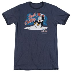 Chilly Willy - Mens Just Chillin Ringer T-Shirt