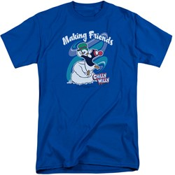 Chilly Willy - Mens Making Friends Tall T-Shirt