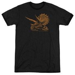 Jurassic Park - Mens Tri Mount Ringer T-Shirt