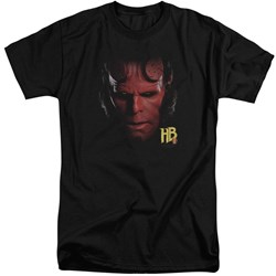 Hellboy II - Mens Hellboy Head Tall T-Shirt