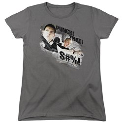 Hot Fuzz - Womens Punch That T-Shirt