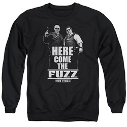 Hot Fuzz - Mens Here Come The Fuzz Sweater