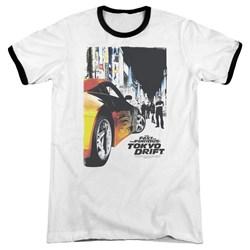 Tokyo Drift - Mens Poster Ringer T-Shirt