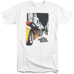 Tokyo Drift - Mens Poster Tall T-Shirt