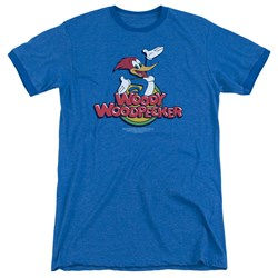 Woody Woodpecker - Mens Woody Ringer T-Shirt