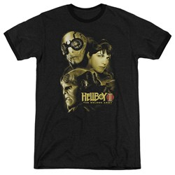 Hellboy II - Mens Ungodly Creatures Ringer T-Shirt