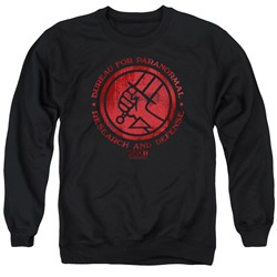 Hellboy II - Mens Bprd Logo Sweater