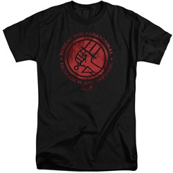Hellboy II - Mens Bprd Logo Tall T-Shirt