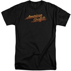 American Grafitti - Mens Neon Logo Tall T-Shirt