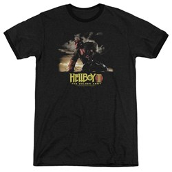 Hellboy Ii - Mens Poster Art Ringer T-Shirt