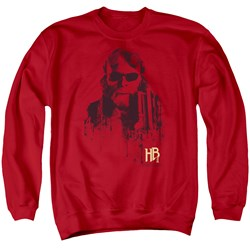 Hellboy II - Mens Splatter Gun Sweater