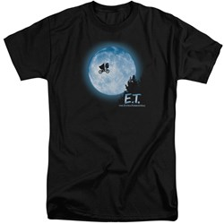 ET - Mens Moon Scene Tall T-Shirt