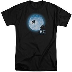 ET - Mens Moon Scene Tall T-Shirt