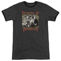 Three Stooges - Mens Moronica Ringer T-Shirt