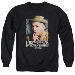 Three Stooges - Mens Try To Think Sweater