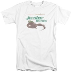 Tootsie Roll - Mens Junior Mints Logo Tall T-Shirt