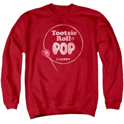 Tootsie Roll - Mens Tootsie Roll Pop Logo Sweater