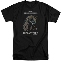 Last Ship - Mens Mask Tall T-Shirt