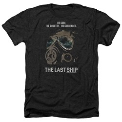 Last Ship - Mens Mask Heather T-Shirt