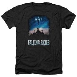 Falling Skies - Mens Main Players Heather T-Shirt