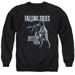 Falling Skies - Mens Battle Or Become Sweater