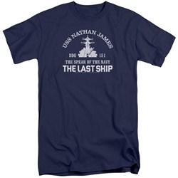 Last Ship - Mens Open Water Tall T-Shirt