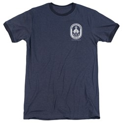 Last Ship - Mens Port Ringer T-Shirt