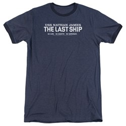 Last Ship - Mens Find The Cure Ringer T-Shirt