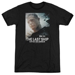 Last Ship - Mens Captain Ringer T-Shirt
