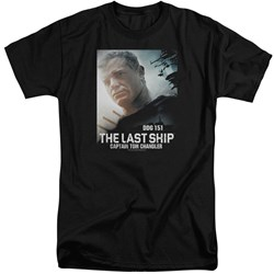 Last Ship - Mens Captain Tall T-Shirt